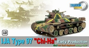 "IJA Type 97 ""Chi-Ha"" Early Production, 3rd Tank Company, 1st Tank Regiment, Malaya 1941"