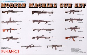 Modern Machine Gun Set