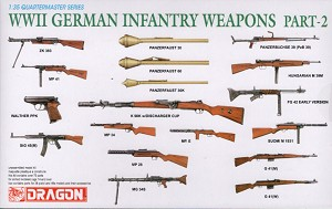 WWII German Infantry Weapons Part 2