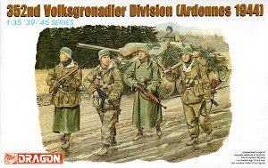 Dragon 1:35 352nd VolksGrenadier Division - Ardennes 1944