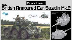 British Armored Car Saladin Mk.II - Black Label Series