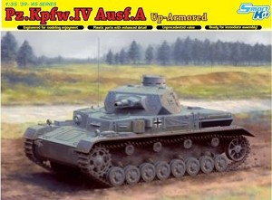 Pz Kpfw IV Ausf A Up-Armored Version