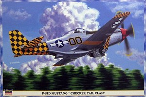 P-51D Mustang - Checker Tail Clan