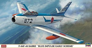 F86F-40 Saber Blue Impulse Early Scheme - Limited Edition