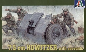 7.5cm Howitzer with Servants