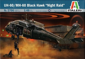 Italeri 1:48 UH-60/MH-60 Black Hawk - Night Raid