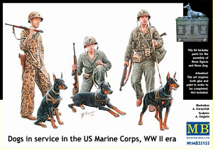 Dogs in Service in the Marine Corps, WWII