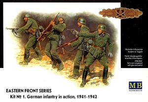 German Infantry in Action, 1941-1942 - Eastern Front Series
