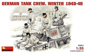 German Tank Crew , Winter 1943-45