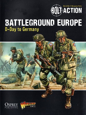 Bolt Action: Battleground Europe D-Day To Germany Front Cover Art