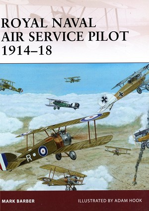 Warrior Royal Naval Air Service Pilot 1914–18 Front Cover Art