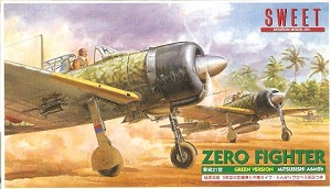 A6M2 Zero Fighter Green Version  - Twin Kit