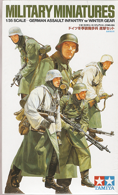 German Assault Infantry w/Winter Gear