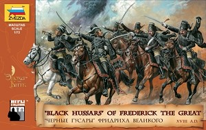 Black Hussars of Frederick II of Prussia - 18th Century
