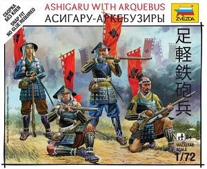 Ashigaru with Arquebus ~ Snap Kit